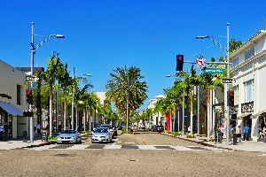 Le shopping , La fameuse Rodeo Drive de Beverly Hills , Etats-Unis