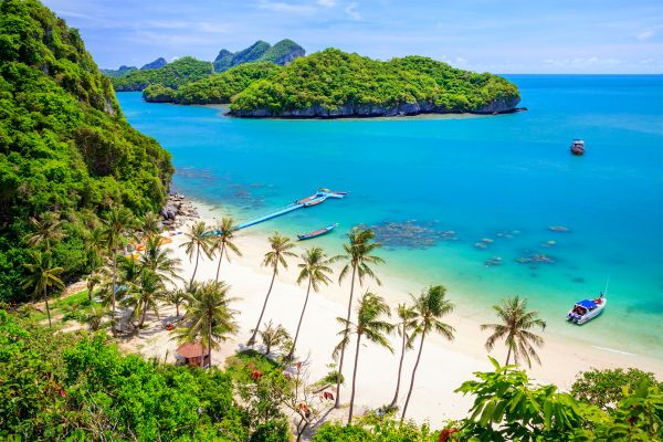 Bophut, Koh Samui, Koh Samui, Die Küsten, Thailand
