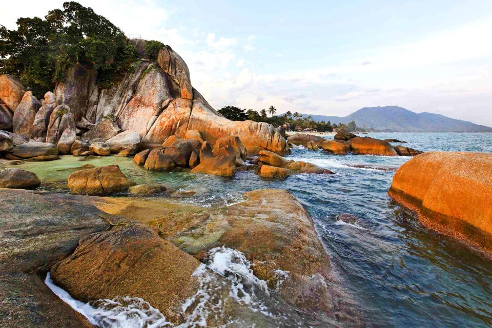 Hin Tan e Hin Yai, Koh Samui, Le rive, Thailandia