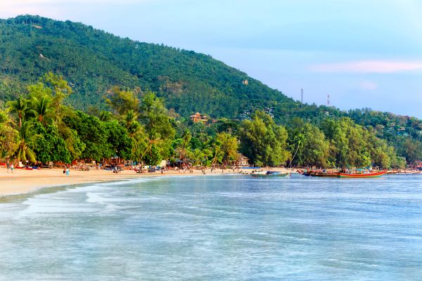 Sairee Beach, Koh Tao, Koh Tao, Coasts, Thailand