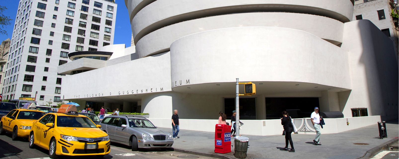 Solomon R. Guggenheim Museum , Inside the Guggenheim Museum, New York , United States of America