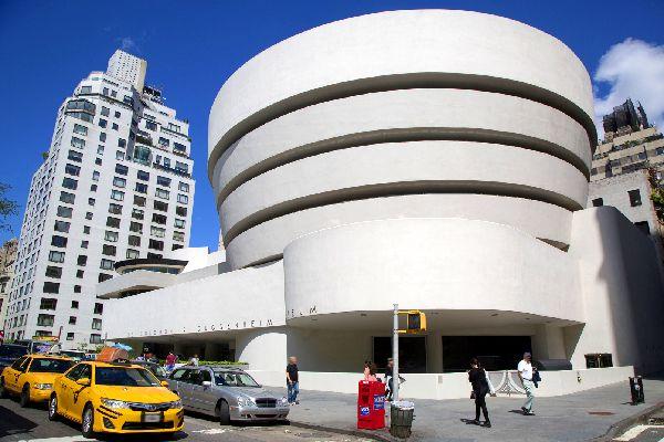 Solomon R. Guggenheim Museum , Inside the Guggenheim Museum, New York , United States of America