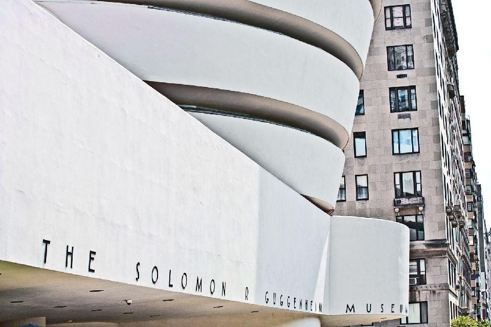 Le musée Solomon R.Guggenheim , Guggenheim , Etats-Unis