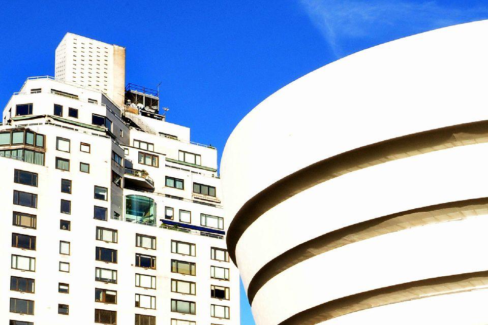 Le musée Solomon R.Guggenheim , Etats-Unis