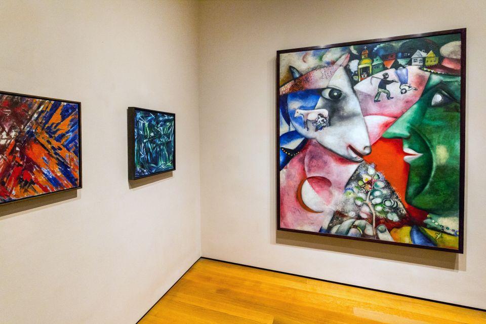 Interior del Moma, The Museum of Modern Art, Los museos, Nueva York, El Noreste de Estados-Unidos
