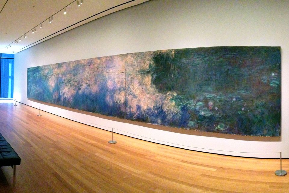 The Museum of Modern Art , An oil painting at the MoMA, New York , United States of America