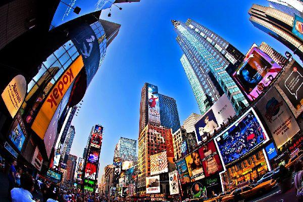 Broadway , Gratte-ciels , Etats-Unis