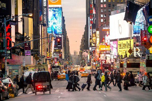 Broadway , Vue sur Broadway , Etats-Unis
