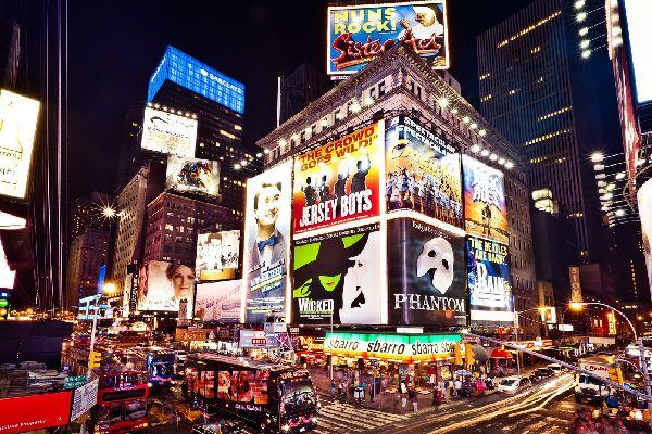 Broadway , Le Fantôme de l'Opéra , Etats-Unis