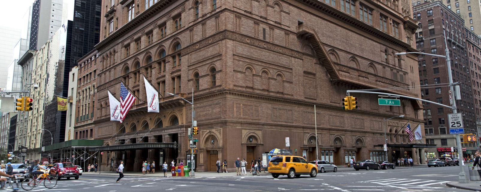 La Canergie hall, Carnegie Hall, Le arti e la cultura, New York, Stati Uniti Nord-Est