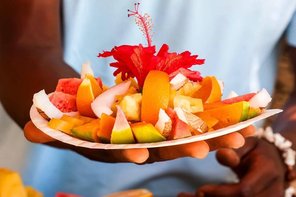La gastronomía , Las Seychelles