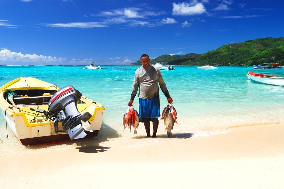 La pesca , Las Seychelles