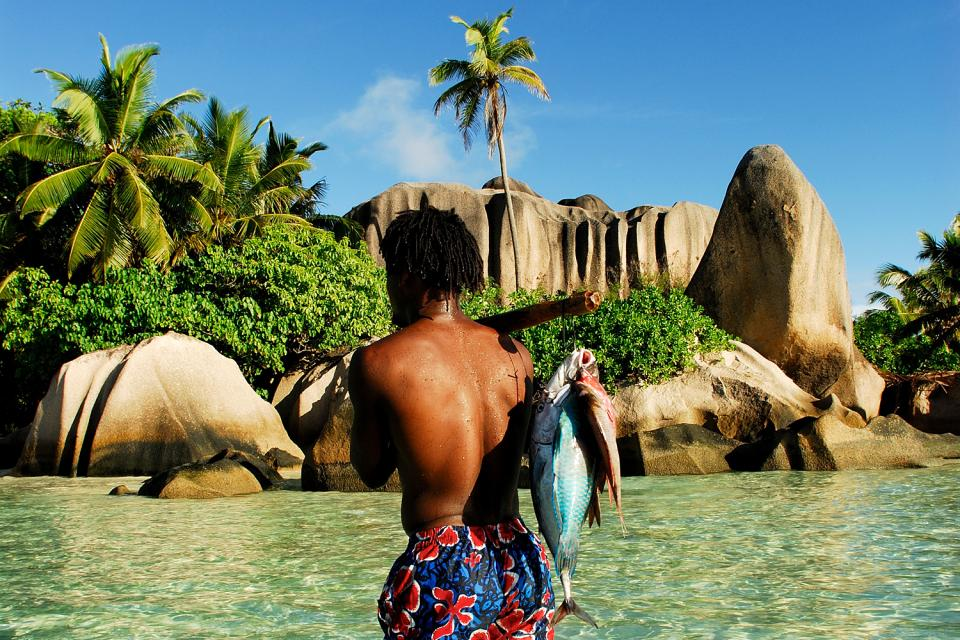 La pesca , Un entorno idílico para pescar , Las Seychelles