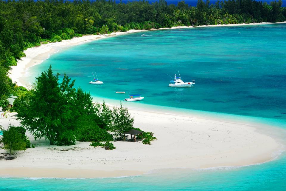 La navegación deportiva , Las Seychelles