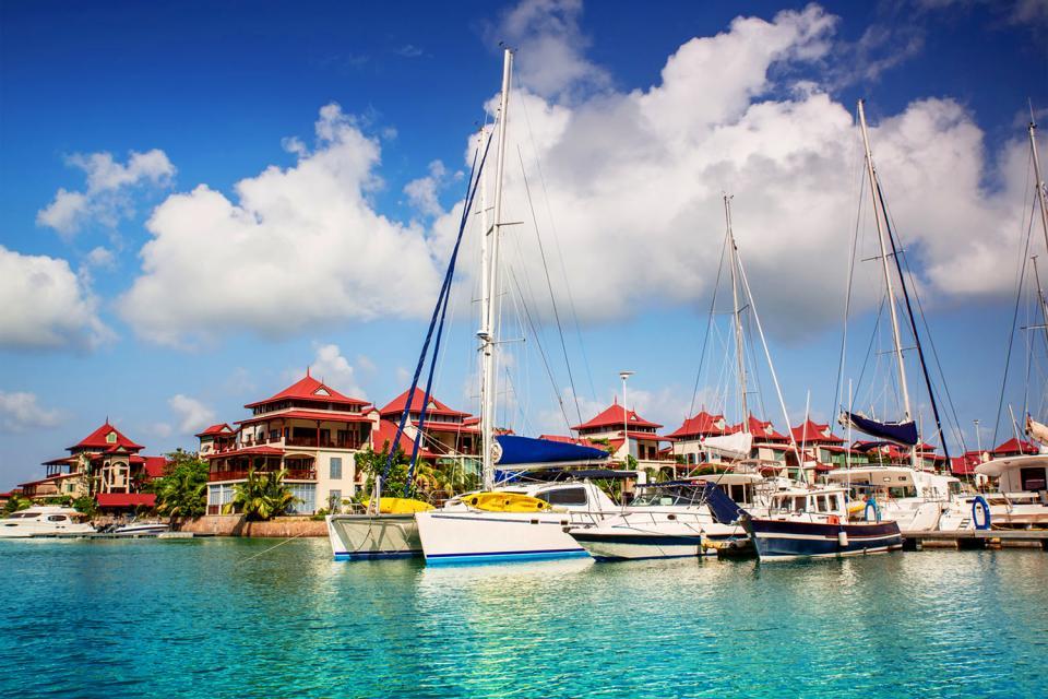 La navegación deportiva , De puerto en puerto , Las Seychelles