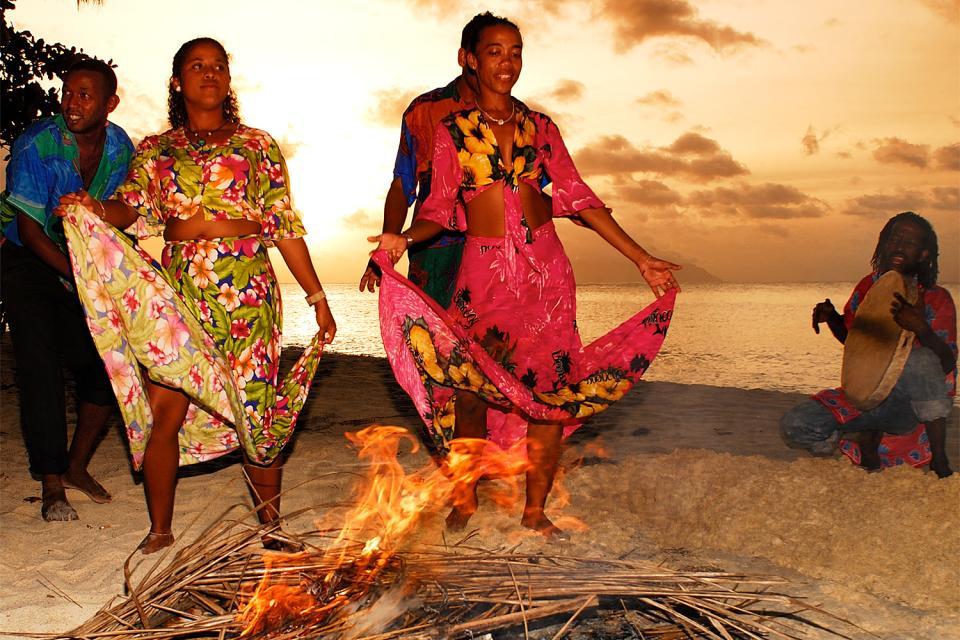 La danza , Seychelles
