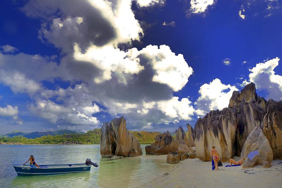 Cousin Island , Seychelles