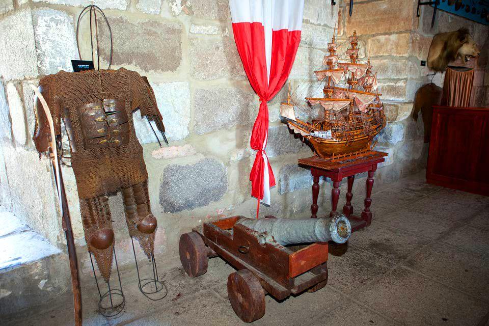Le château Saint-Pierre à Bodrum , Le musée du château , Turquie