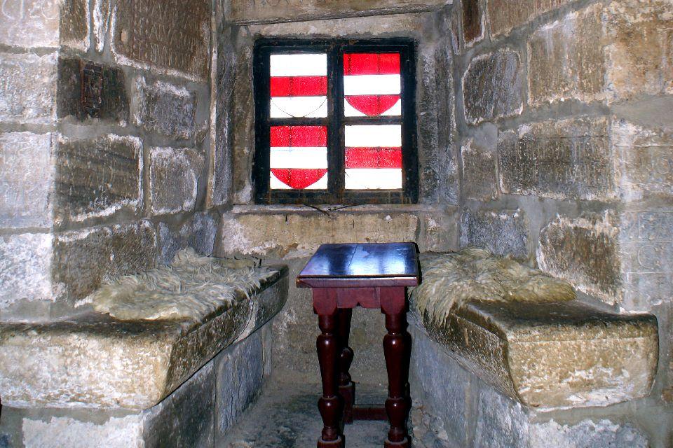 Le château Saint-Pierre à Bodrum , Les armes des Hospitaliers , Turquie