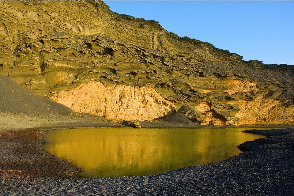 Lanzarote , La Laguna Verde , España