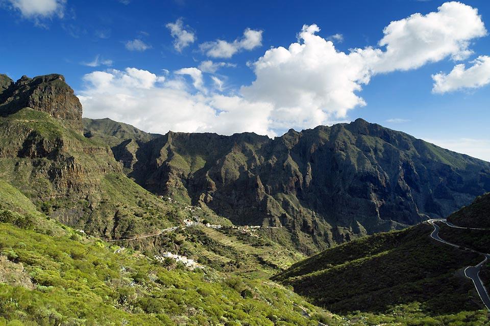 Tenerife , Buenavista Teno , Montañas de Masca , España
