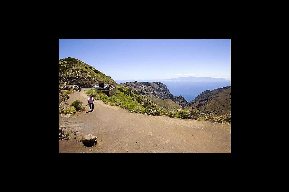 Tenerife , Buenavista Teno , Unas vistas espectaculares , España