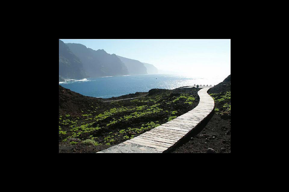 Tenerife , Buenavista Teno , Un paraíso para los senderistas , España