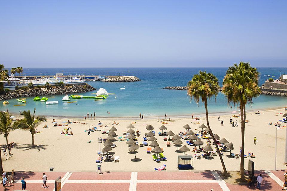 Tenerife , Playa las America , Symbole du tourisme de masse , Espagne