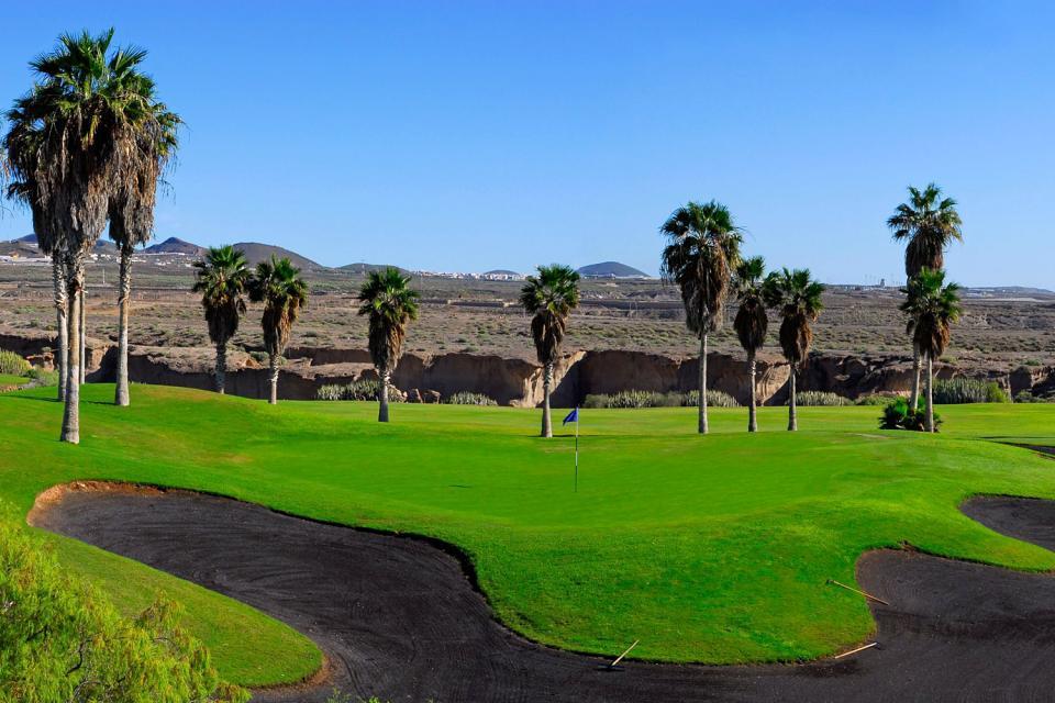Golf , El campo de golf de Arona , España