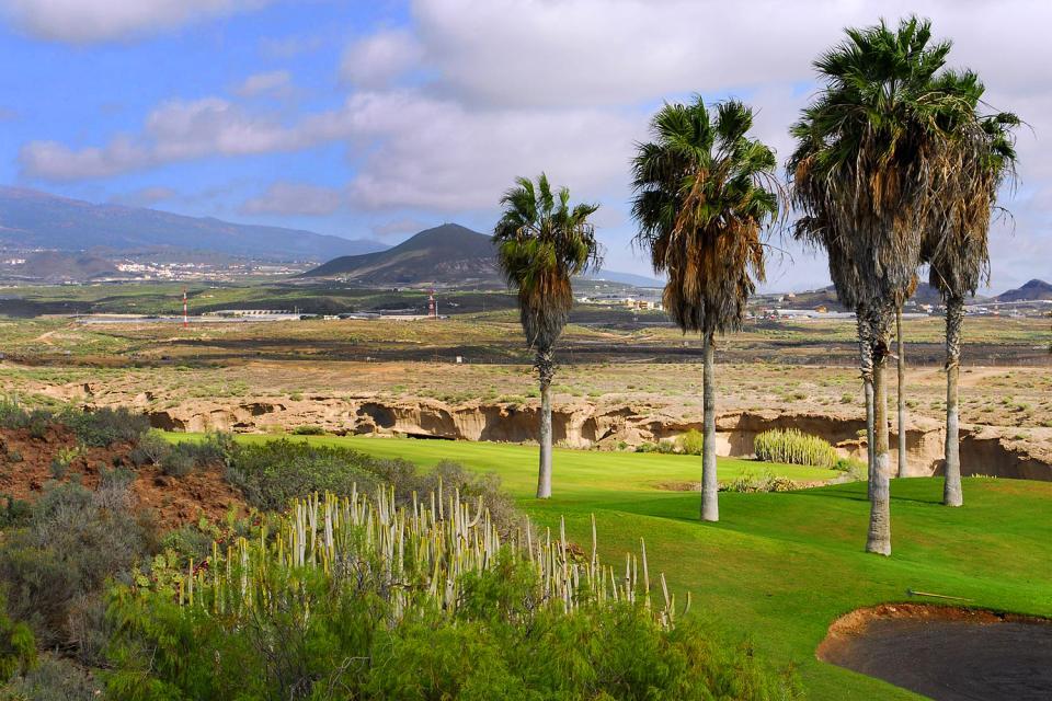Golf , El campo de golf Las Américas , España