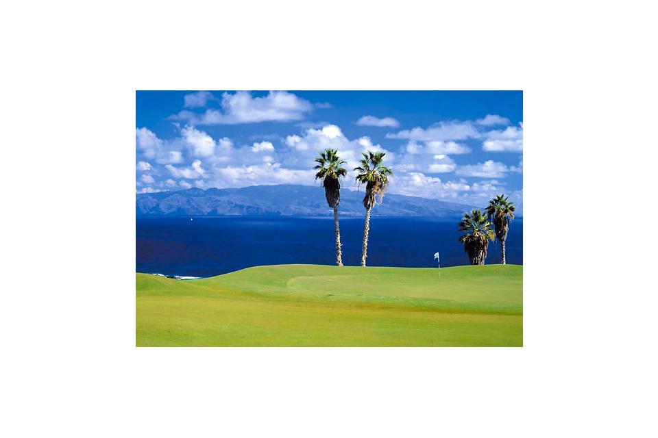 Golf , El campo de golf de Costa Adeje , España