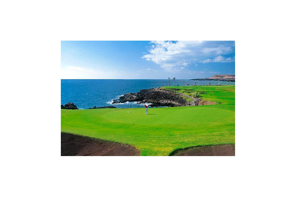 Golf , El campo de golf de Amarilla , España