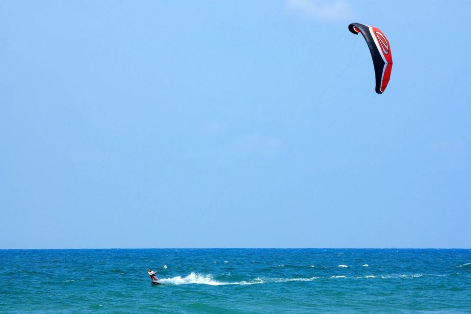 Le kitesurf , Un spot mondial , Espagne