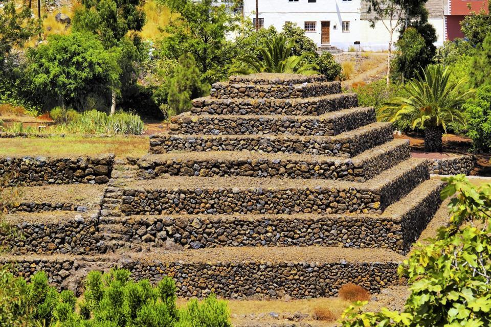 The Pyramids of Güímar , An ethnological park , Spain