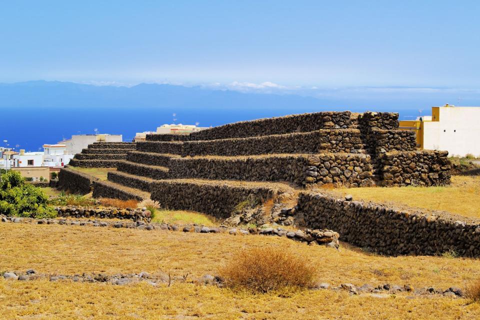 The Pyramids of Güímar , The mystery of the pyramids... , Spain