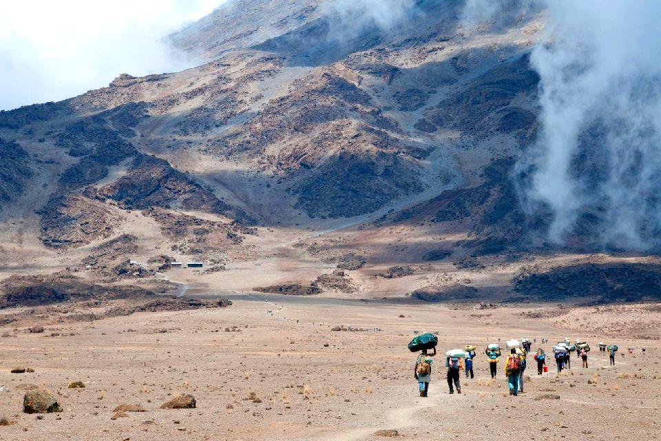 El Kilimanjaro , Ascensión al Kilimanjaro , Tanzania