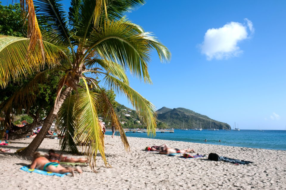 L'Anse Carlet , Die Strände von Les Anses-d'Arlet , Martinique