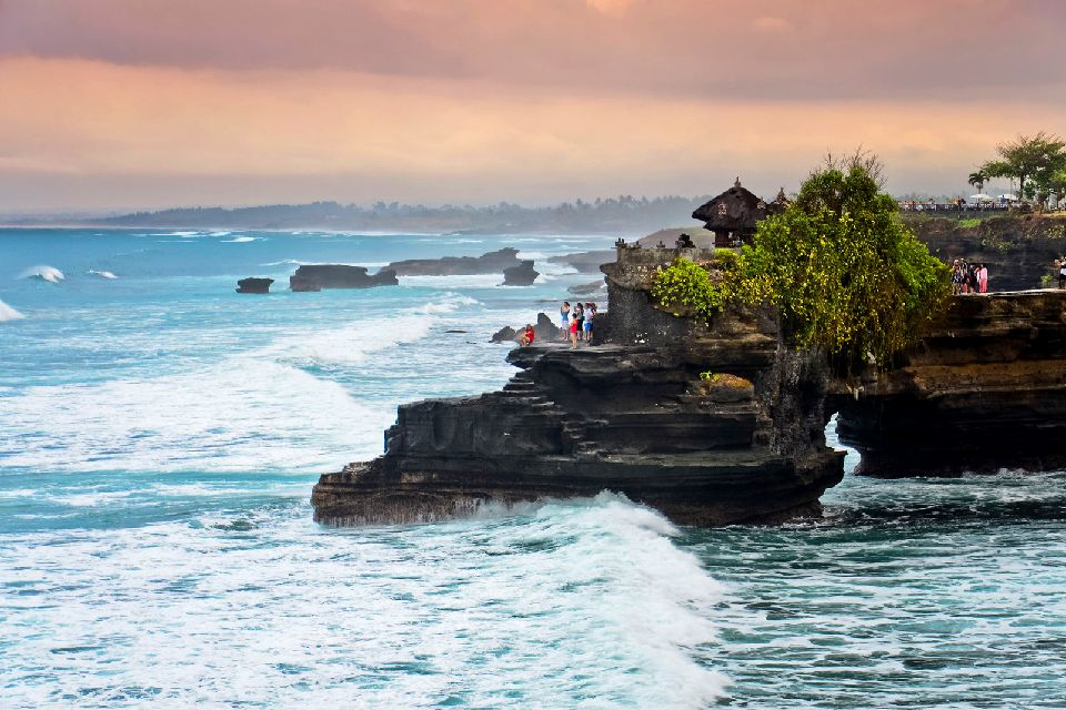 Tanah Lot , Tanah Lot and other temples , Indonesia