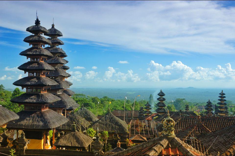 Mount Agung, Besakih, The temples, Bali