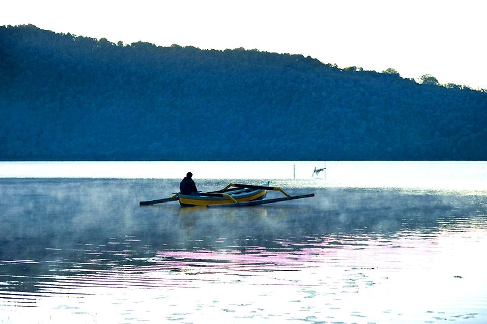 Lacs , Lac Bratan , Indonésie