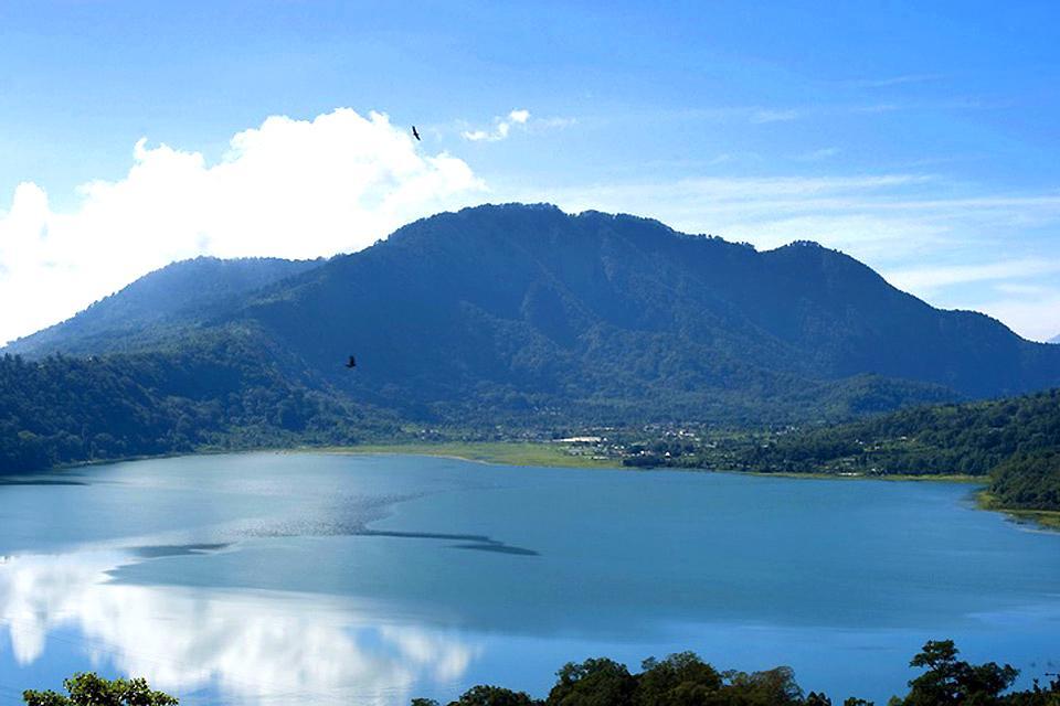 Lacs , Lac Buyan , Indonésie