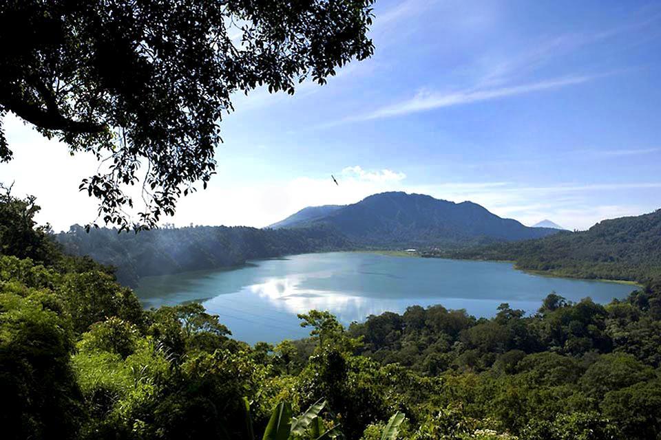 Lacs , Les randonnées , Indonésie