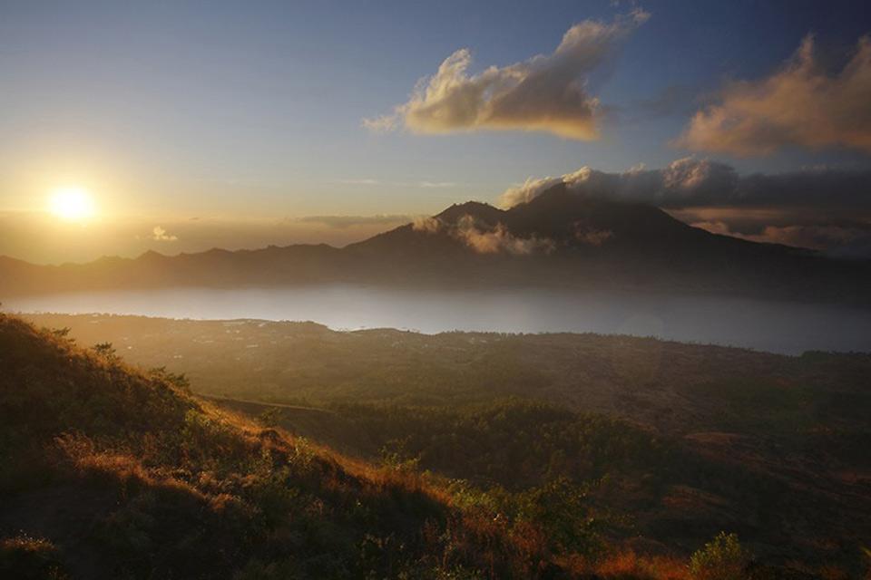Les volcans , Le Mont Agung , Indonésie