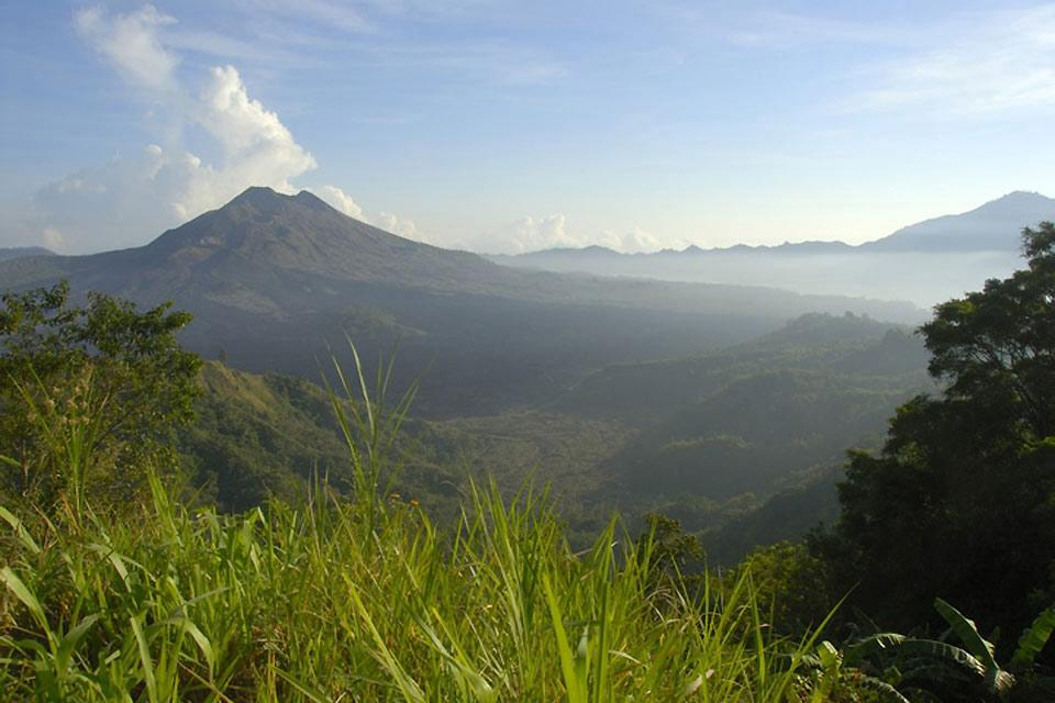 Les volcans , Le Mont Batur , Indonésie