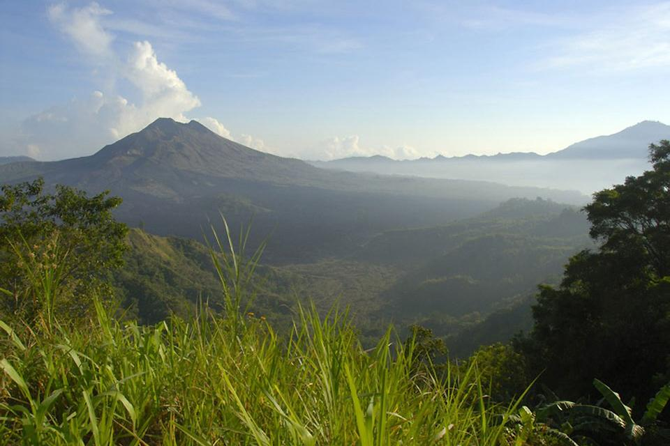 Hiking , Bali, a land of adventure , Indonesia
