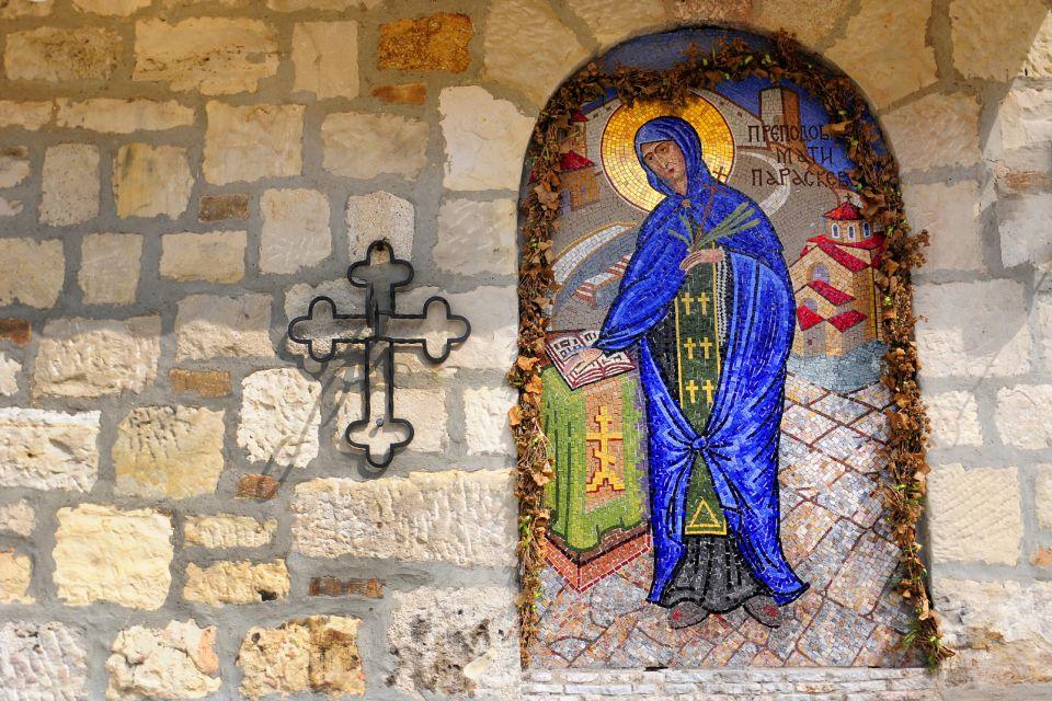La fortezza di Belgrado , Icona di una chiesa ortodossa , Serbia