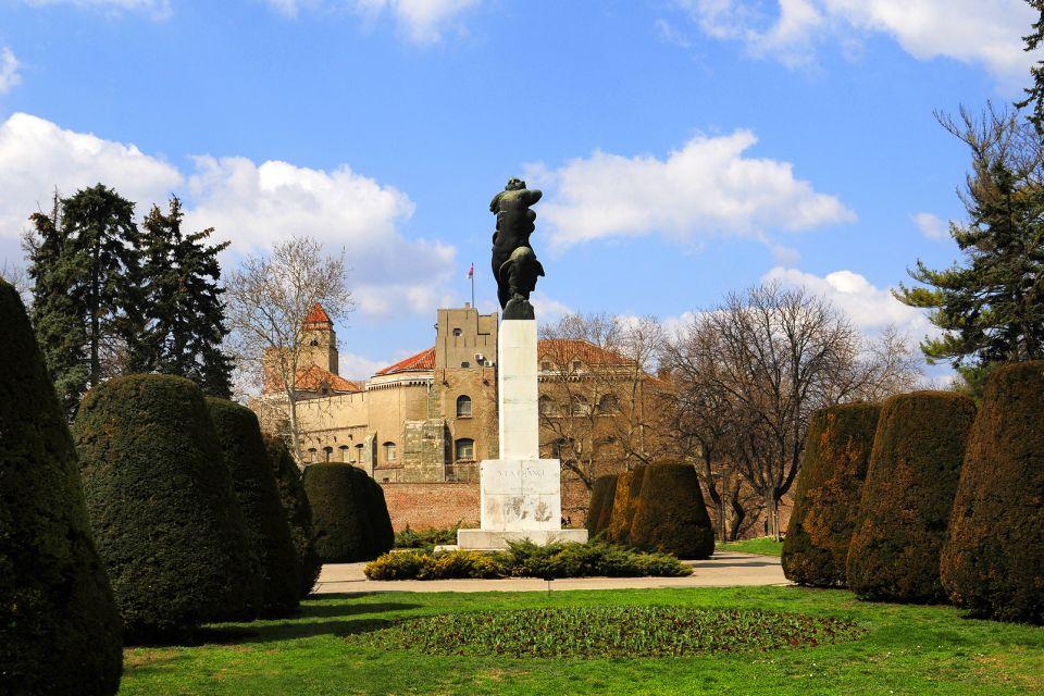 La fortezza di Belgrado , Monumento alla Francia , Serbia