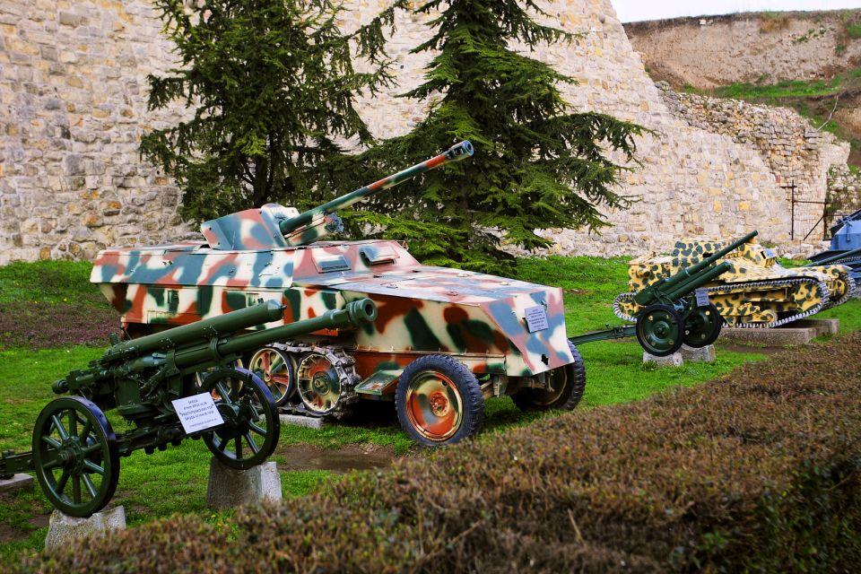 La fortezza di Belgrado , Il museo dell'Esercito , Serbia