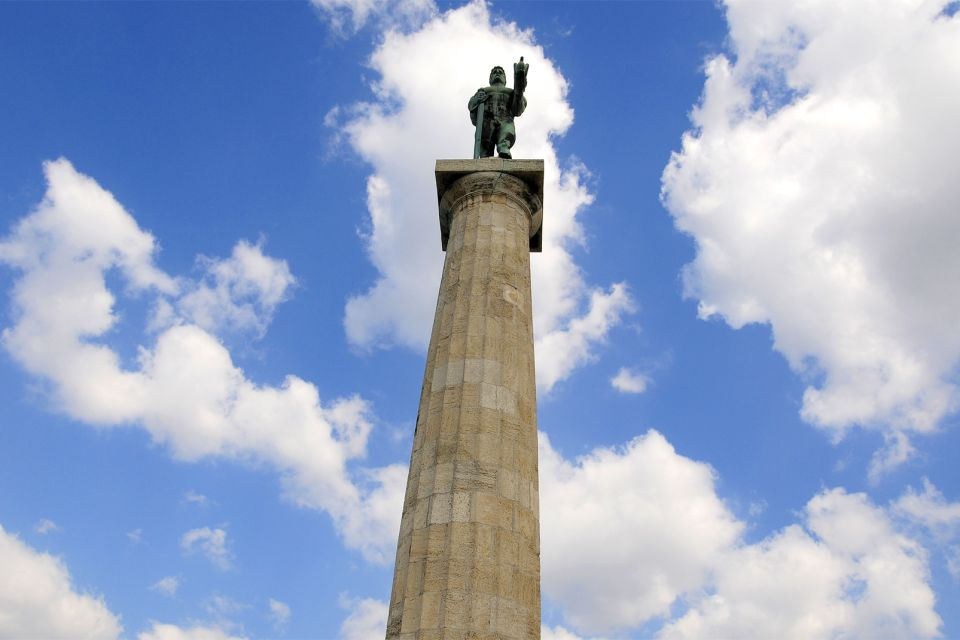 """La fortezza di Belgrado , La statua """"del vincitore"""" , Serbia"""