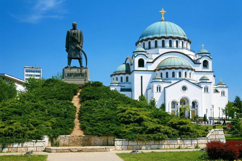 Il tempio di San Sava, Il tempio di Santo-Sava, I monumenti e le passeggiate, Serbia